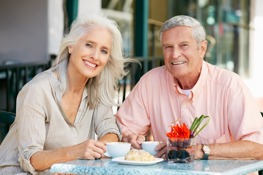 Elderly couple discussing estate planning McEwen Investments