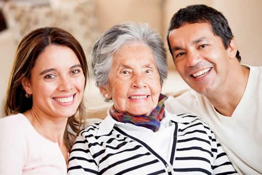 family photo elderly relative
