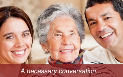 Transitioning to aged care – a necessary conversation